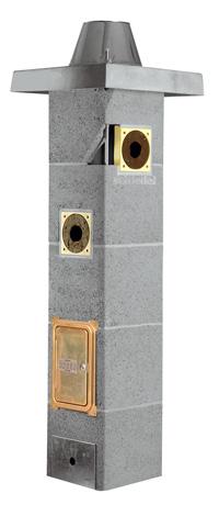 Betonový komínový systém s keramickou vložkou Schiedel