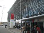 vstupní brána na Messe ISH 50