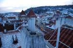 romantický pohled na Újezd a Petřín